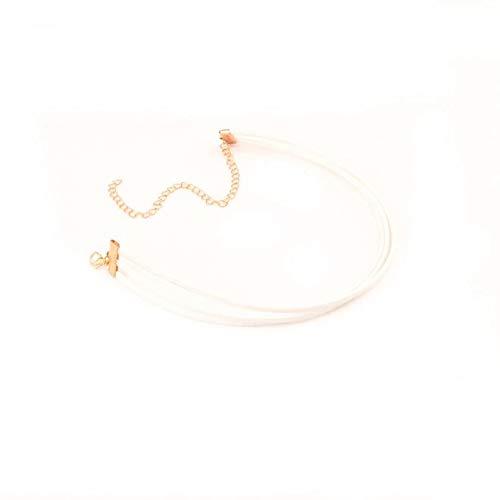 Peppers Scrunchie (Molyveva Velvet Chokers Necklaces Classic Plain Chokers Ribbon Gothic Collar for Women Girls Hot Pepper)