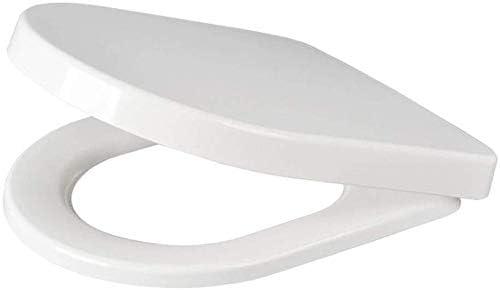 S-優雅な便座カバー調節可能なヒンジ抗菌性尿素-ホルムアルデヒド樹脂便器ふたU型便座、U型