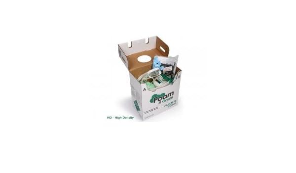 Espuma Que 120 alta densidad Spray de espuma de poliuretano de DIY Kit: Amazon.es: Bricolaje y herramientas