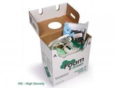 Espuma Que 120 alta densidad Spray de espuma de poliuretano de DIY Kit