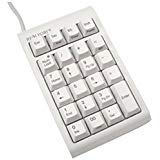 Topre REALFORCE 23U USB Ten Key Sublimation printing White (ALL 45 g-Load) WC0100