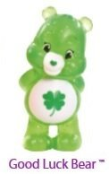 Care Bears - Collectible Figure - Series 2 - Good Luck Bear