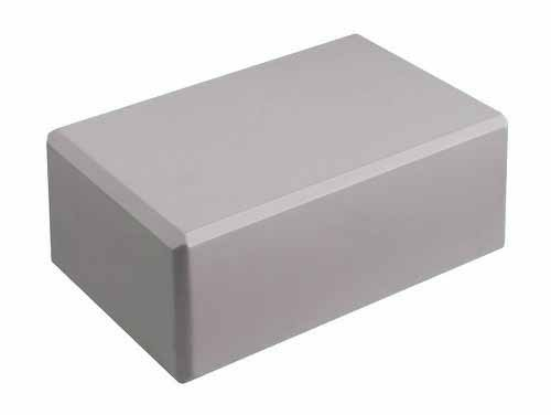 "Hello Fit 4"" Yoga Block (4"" x 6"" x 9"") - Studio 10 Pack (Cool Gray)"