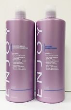 Enjoy Sulfate-Free Luxury Shampoo and Luxury Conditioner 33.8 fl oz Each by Enjoy