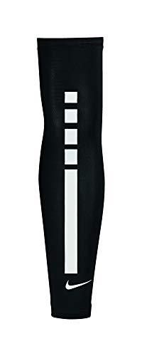 promo code 9cbe7 36b7e Nike Pro Youth Elite Sleeves 2.0 Black White Size Small Medium