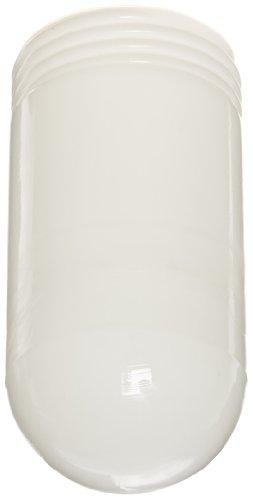 RAB Lighting GL100W 100 Series Vaporproof Threaded Glass Globe, 100W Power, Individually Boxed, White