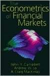 img - for The Econometrics of Financial Markets (text only) by A.W.Lo, A.C.MacKinlay,A.Y.Lo J.Y.Campbell book / textbook / text book