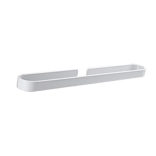 Witte handdoekenrek ruimte aluminium hanger badkamer handdoek enkele staaf Amerikaanse badkamer handdoekenrek stofvrije…