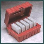 Perm-A-Store Turtle DLT/ SDLT Case - Holds 5 Tapes - Red, Part # ()