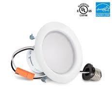 4-inch LED Recessed DownLight (3000k,4000k,5000k) 2 in PACK By ledusa