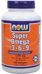 Now Foods Omega 3-6-9 savoir Soft-gels, 1200mg, 180-Comte