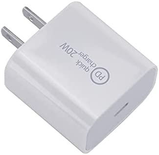 20W USB C Charger PD Fast Charger Block Type C Power Delivery Wall Charger Adapter Compatible for iPhone 12 Mini 12 Pro Max SE 11 Pro Max XR 8 Plus Pixel Samsung Galaxy S10 S9 LG iPad Pro