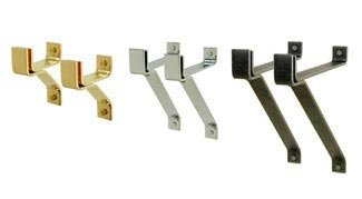 Enclume Four (Enclume WB-4-CP 4-Inch Wall Brackets Set of 2, Copper)
