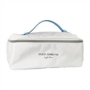2f51e382b8fa Image Unavailable. Image not available for. Colour  Dolce   Gabbana Light  Blue Beauty Toiletry Bag Travel Overnight Wash Gym ...
