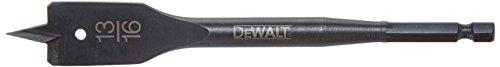 - DEWALT DW1579 13/16-Inch by 6-Inch Spade Drill Bit