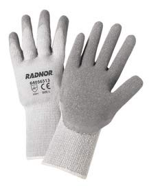 Radnor Small Gray Acrylic and Cotton and Polyester Unlined Cold Weather Gloves (35 Pairs)