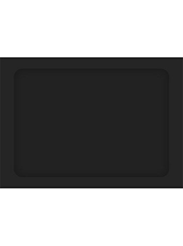 A7 Full Face Window Envelopes - Midnight Black (250 Qty.)