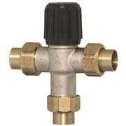 Honeywell AM101R-UT-1. Radiant. Thermostatic Mixing Valve 3/4 inch NPT thread Union. HEATING ONLY.