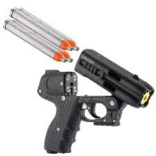 JPX Pepper Spray Gun with LED Laser, Bundle with a Holster by JPX (Image #7)