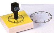 Center Enterprise CE101 Large Clock Stamps