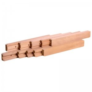 ouverture centrale synchronis/ée Ouverture:1530 mm en bois Coulisses de table ITAR
