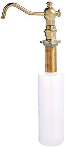 (Kingston Brass SD7602 Vintage Soap Dispenser, 11-13/16