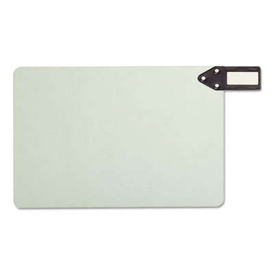 End Tab Guides, Blank, Horizontal Metal Tabs, Pressboard, Legal, 50/Box