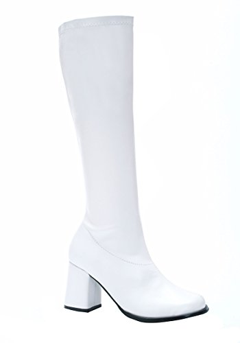 Patent Leather White Go Go (White Go Go Boots)