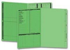 EGP Legal Size Real Estate Listing Folder Left Panel
