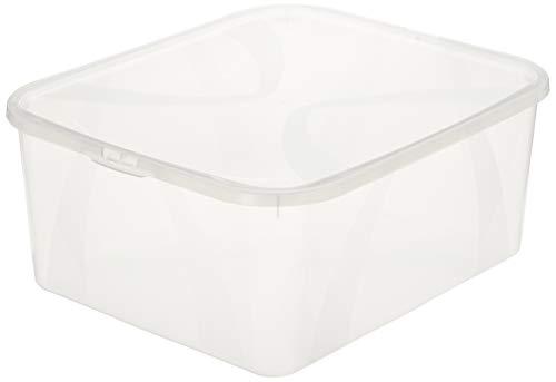 AmazonBasics Set of 2 Storage Boxes - 2X 19 l