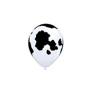 10 Cow Print Balloons (Print Toy)