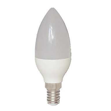 Modern LED Bulbs E14 6 W 15 SMD 3022 540 LM Warm White C Candle Bulbs AC 85-265 V - 540 Candle