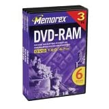 Memorex 4.7GB DVD-RAM (3-Pack) (Discontinued by Manufacturer)