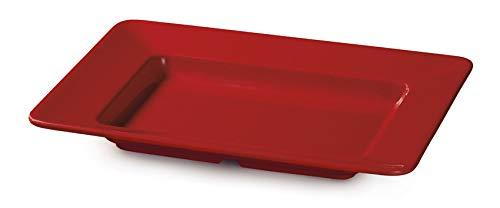"""G.E.T. Enterprises ML-11-RSP Red Sensation 12"""" x 10"""" Rectangular Plate"""