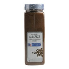 McCormick Ground Allspice, 1 lb. container, 6 per case