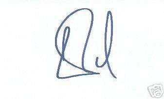 Carson Palmer signed 3x5 card Heisman Trophy (Carson Palmer Heisman Trophy)