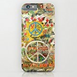 Beatles - All You Need is Love - Peace Sign - Imagine - John Lennon battery cover for iphone 6 with 4.7 inch cases on TOOT0 Case