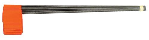 Johnson Level & Tool 3350-O Stake Flags, Glo Orange, 100-Bundle ()