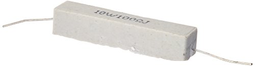 Resistors Power 10w - uxcell 5% Tolerance Ceramic Cement Power Resistor (10pcs 10W 100 Ohm)