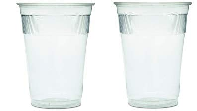 GEN WRAPCUP Individually Wrapped Plastic Cups, 9oz, Clear (Case of 1000) (2-(Pack))