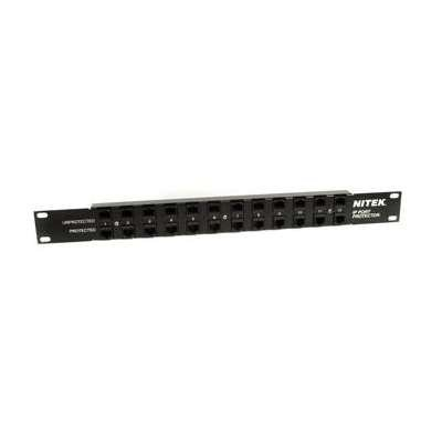NITEK IPPTR12 IP 12 PORT SURGE PROTECTOR SINGLE CHANNEL MULTI STAGE by Nitek