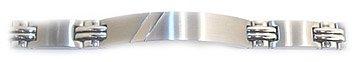 【公式ショップ】 B00803L0GMEXCLUSIVEステンレススチール、モダンメンズIDブレスレット B00803L0GM, 松代町:5e75504a --- arcego.dominiotemporario.com