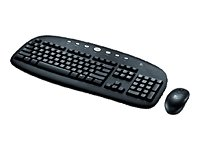 Logitech Cordless Internet Pro Desktop Keyboard & Mouse Set