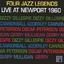 Four Jazz Legends Live at Newport 1960 by Vanguard Classics