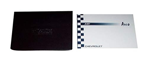 2004 Chevrolet Aveo Owners Manual 04