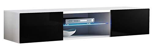 Mueble TV modelo Berit H180 Blanco Muebles Bonitos