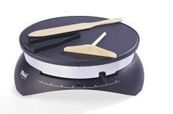 Tibos Chromed Tibos Electric Crepe Maker by Tibos