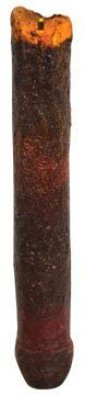 - Burgundy Primitive Drip Candle LED Timer Taper Country Home Décor