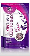 Living Intentions, Organic Sprouted Trail Mix; Wild Berry, Pack of 15, Size - LB, Quantity - 1 Case by Living Intentions