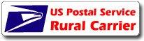 USPS Rural Carrier Magnetic Sign 24x6